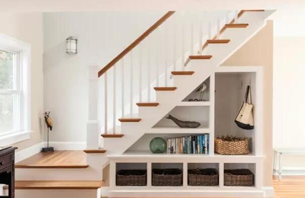 怎样才能巧妙合理的利用楼梯下方空间?8种实用的楼梯设计方法