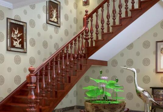 青岛即墨灵山镇实木楼梯定做厂家